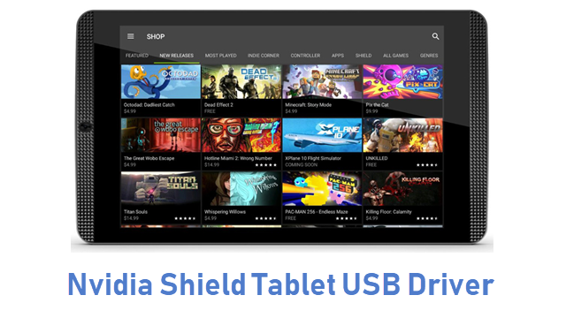 Nvidia Shield Tablet USB Driver
