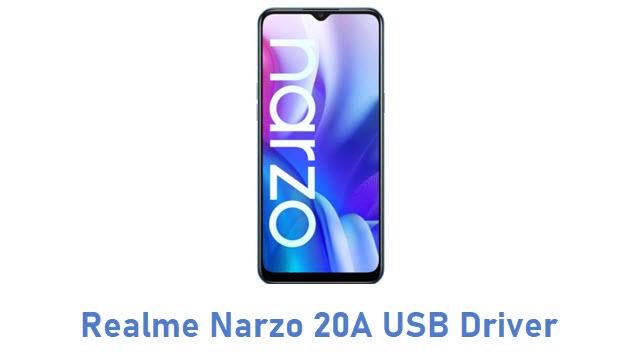 Realme Narzo 20A USB Driver