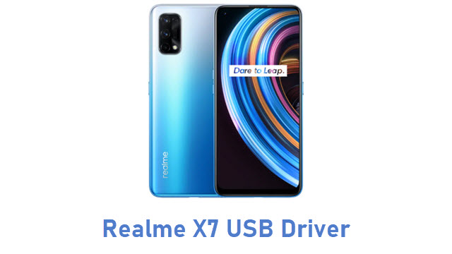 Realme X7 USB Driver