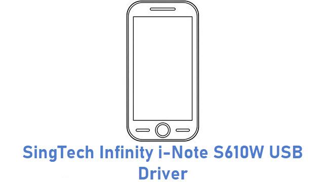 SingTech Infinity i-Note S610W USB Driver