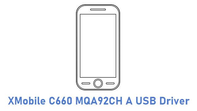 XMobile C660 MQA92CH A USB Driver