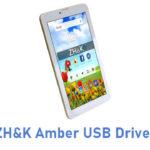 ZH&K Amber USB Driver