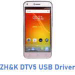 ZH&K DTV5 USB Driver