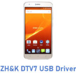 ZH&K DTV7 USB Driver