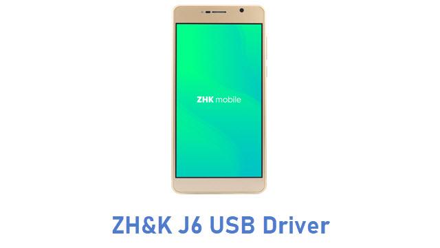 ZH&K J6 USB Driver