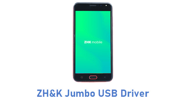 ZH&K Jumbo USB Driver