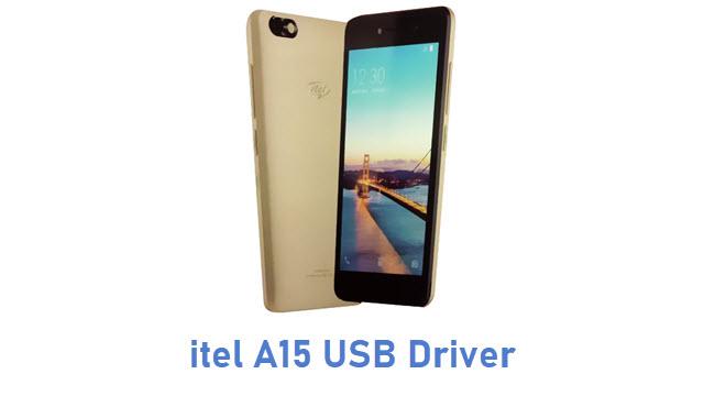 itel A15 USB Driver