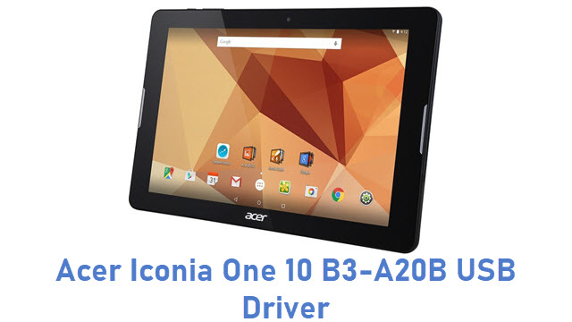 Acer Iconia One 10 B3-A20B USB Driver