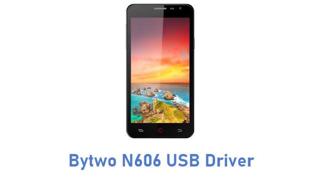 Bytwo N606 USB Driver
