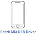 Caszh M13 USB Driver
