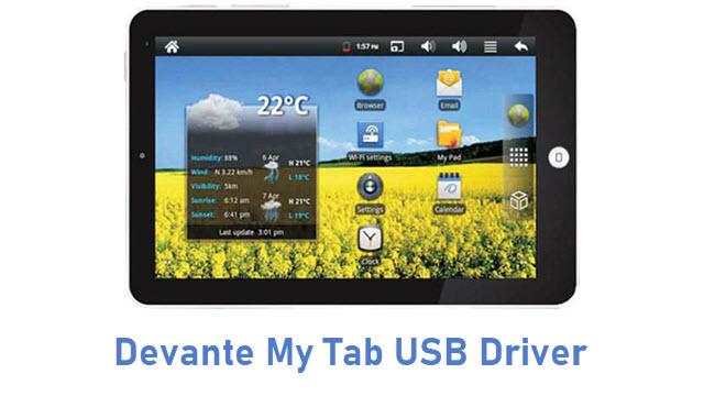 Devante My Tab USB Driver