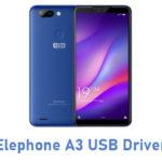 Elephone A3 USB Driver