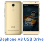 Elephone A8 USB Driver