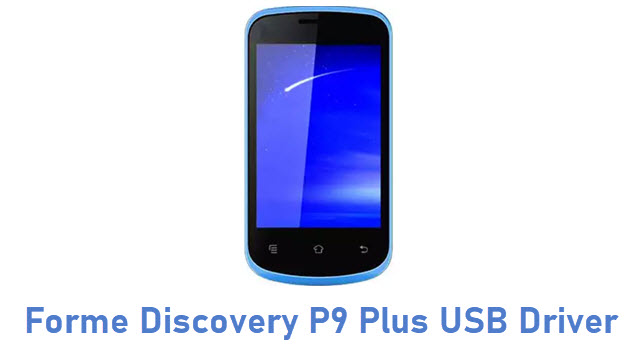 Forme Discovery P9 Plus USB Driver