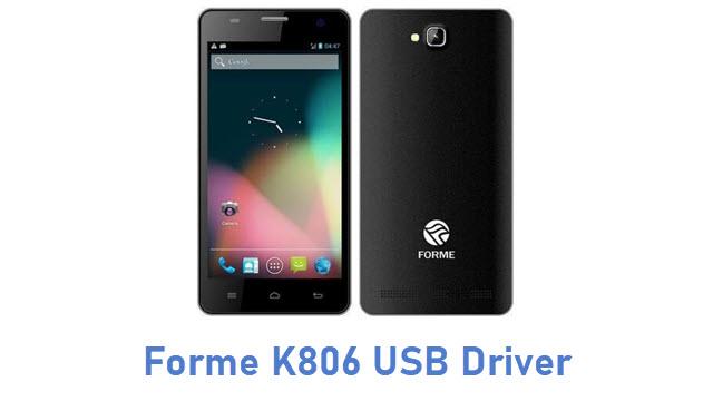 Forme K806 USB Driver