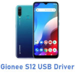 Gionee S12 USB Driver
