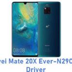 Huawei Mate 20X Ever-N29C USB Driver