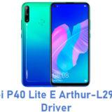 Huawei P40 Lite E Arthur-L29N USB Driver