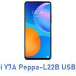 Huawei Y7A Peppa-L22B USB Driver