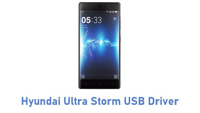 Hyundai Ultra Storm USB Driver