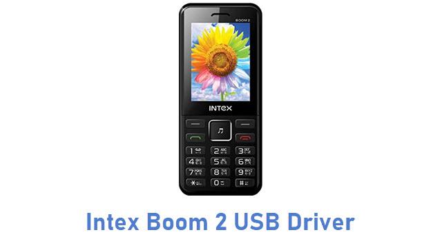 Intex Boom 2 USB Driver
