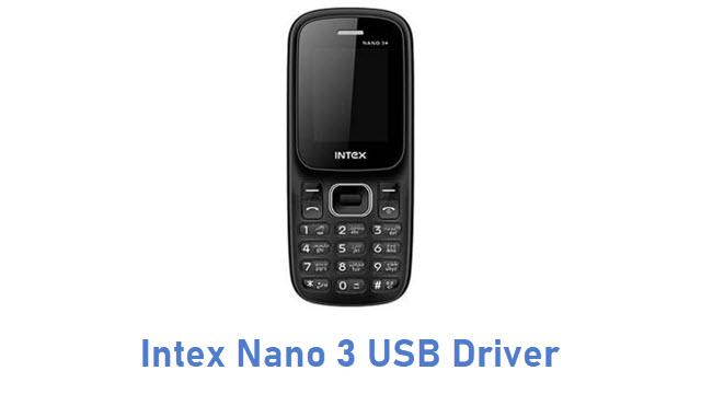 Intex Nano 3 USB Driver