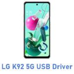 LG K92 5G USB Driver
