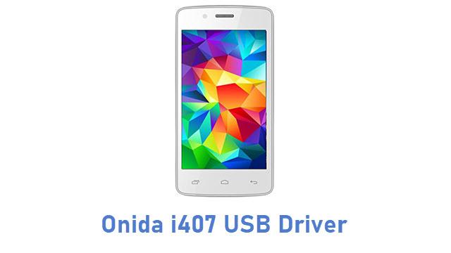 Onida i407 USB Driver