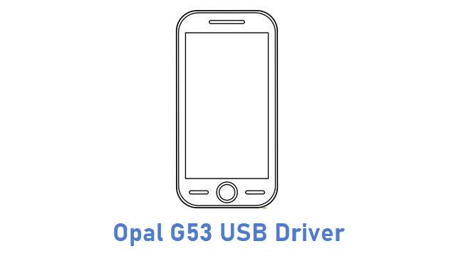 Opal G53 USB Driver