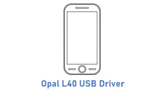 Opal L40 USB Driver
