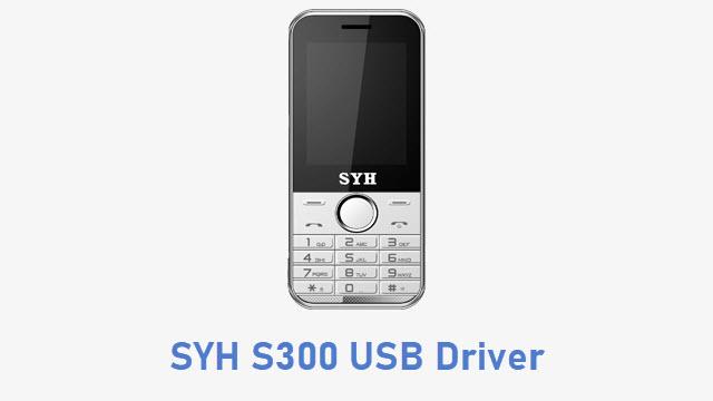 SYH S300 USB Driver
