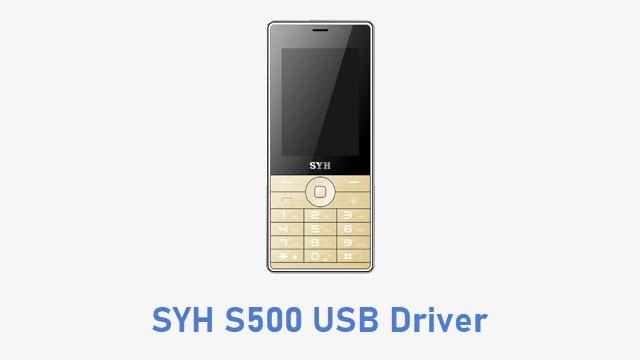 SYH S500 USB Driver