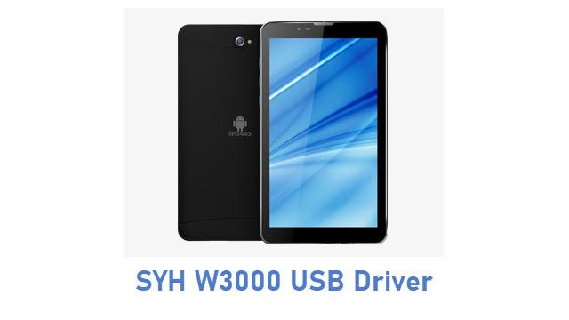 SYH W3000 USB Driver