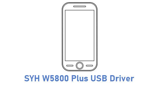 SYH W5800 Plus USB Driver