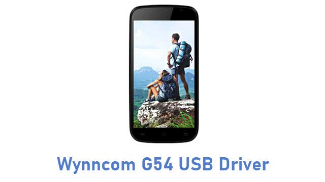 Wynncom G54 USB Driver
