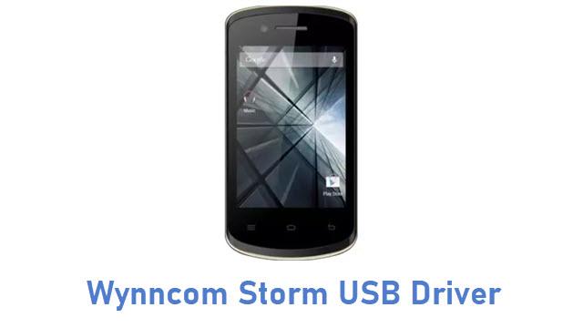 Wynncom Storm USB Driver