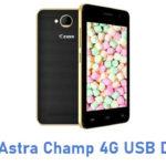 Ziox Astra Champ 4G USB Driver