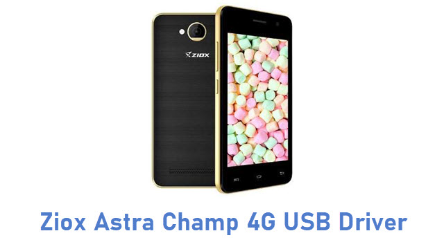 Ziox Astra Champ 4G USB Driver