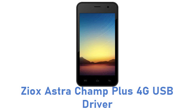 Ziox Astra Champ Plus 4G USB Driver