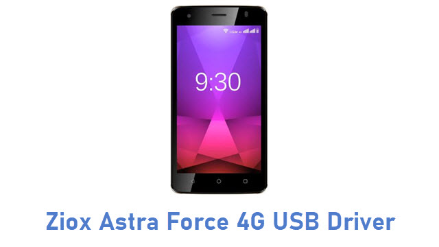 Ziox Astra Force 4G USB Driver