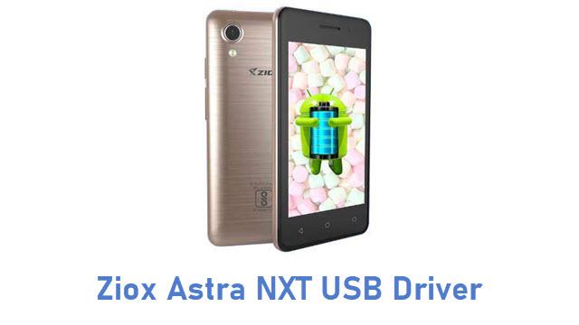 Ziox Astra NXT USB Driver