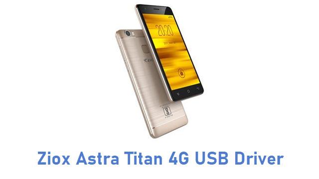 Ziox Astra Titan 4G USB Driver