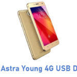 Ziox Astra Young 4G USB Driver