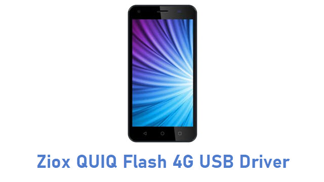 Ziox QUIQ Flash 4G USB Driver