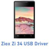 Ziox Zi 34 USB Driver
