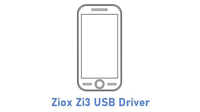 Ziox Zi3 USB Driver