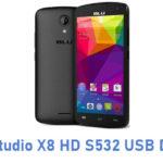 Blu Studio X8 HD S532 USB Driver