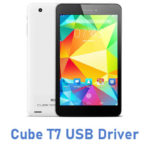 Cube T7 USB Driver