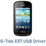 G-Tide E57 USB Driver