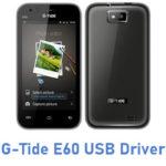 G-Tide E60 USB Driver